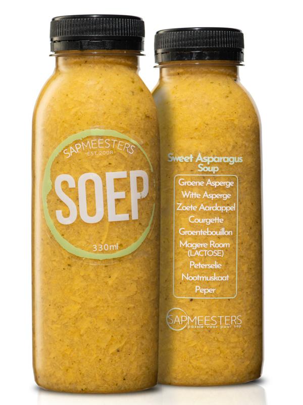 Sweet asparagus soep
