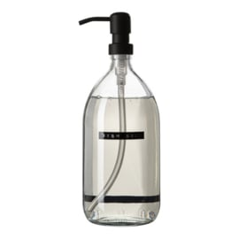 Wellmark afwasmiddel clear glass 1L zwart