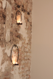 Wand lamp cirkel