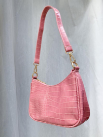 SOPHIE CROCO BAG PINK