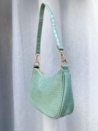 SOPHIE CROCO BAG MINTY