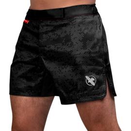 Hayabusa Hex Mid-Length Fight Shorts - Black