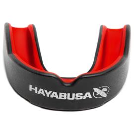Hayabusa Combat Mouthguard - Zwart/Rood - Adult