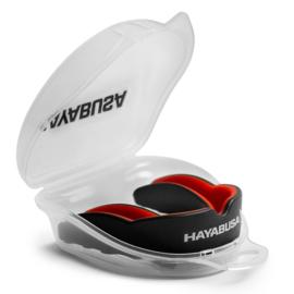 Hayabusa Combat Mouthguard - Black/Red - Adult