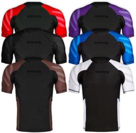 Sanabul Essentials Short Sleeve Compression Rash Guard - zwart