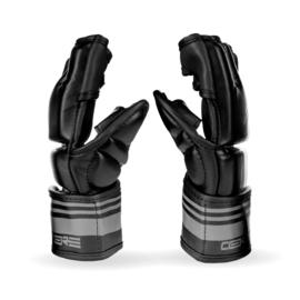 Sanabul Core Series 4 oz MMA Gloves - black and metal