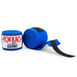 Yokkao Premium Muay Thai Handwraps - Blauw