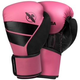 Hayabusa S4 Bokshandschoenen - Pink - met Hayabusa Perfect Stretch Handwraps - Black - 4,5 meter