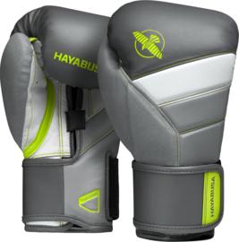 Hayabusa T3 Bokshandschoenen - Charcoal / Lime