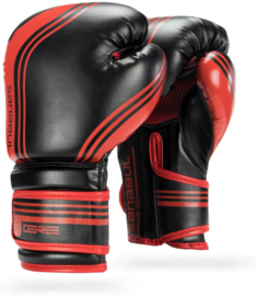 Sanabul Core Series Gel Boxing Gloves - black and red
