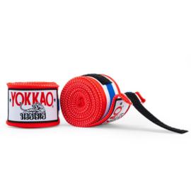 Yokkao Premium Muay Thai Handwraps - Thaise Vlag