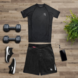 Hayabusa Hexagon Fight Shorts - Zwart