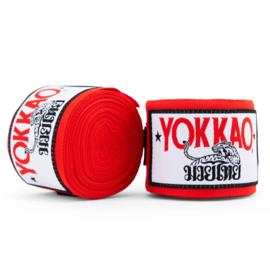 Yokkao Premium Muay Thai Handwraps - Rood