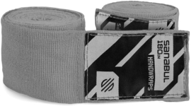 Sanabul Elastic Professional Handwraps - 4,5 m - silver