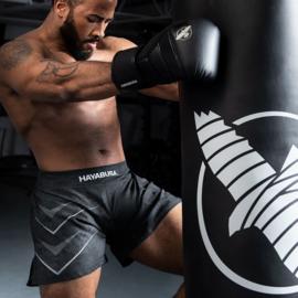 Hayabusa Arrow Kickboxing Shorts - Black