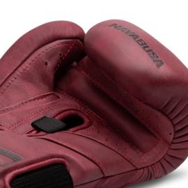 Hayabusa T3 Kanpeki LX Boxing Gloves - Crimson