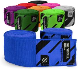 Sanabul Elastic Professional Bandages - 4,5 m - blauw