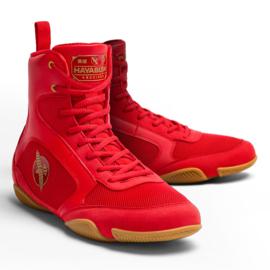 Hayabusa Pro Boxing Shoes - Red