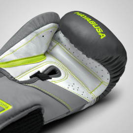 Hayabusa T3 Boxing Gloves - Charcoal / Lime