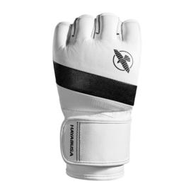 Hayabusa T3 MMA Gloves - 4 oz - Wit / Zwart