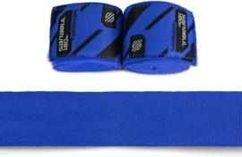 Sanabul Elastic Professional Handwraps - 4,5 m - blue