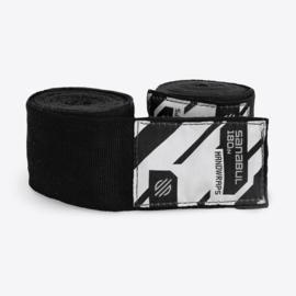 Sanabul Elastic Professional Handwraps - 4,5 m - black