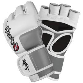 Hayabusa Tokushu - 4 oz -  MMA Gloves - white, grey