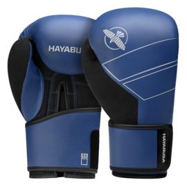 Hayabusa S4 Bokshandschoenen - Echt Leer - Blauw