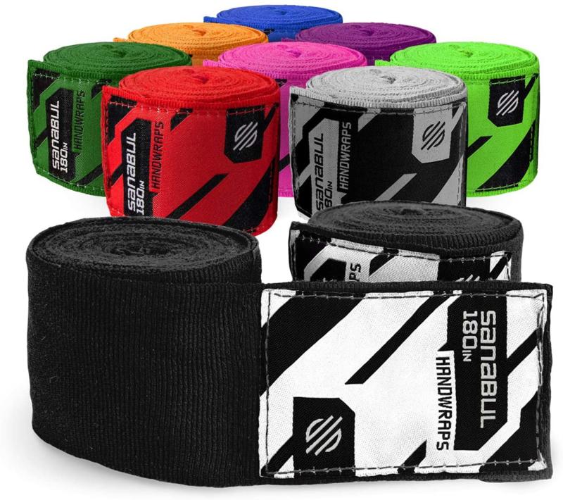 Sanabul Elastic Professional Bandages - 4,5 m - zwart