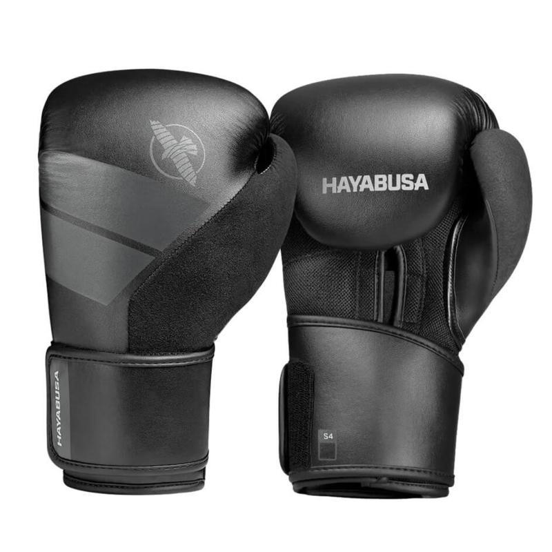 Hayabusa S4 Bokshandschoenen - Zwart
