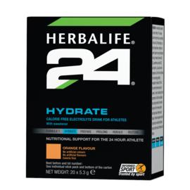 Hydrate sinaasappelsmaak - H24 (20 zakjes van 5,3 gr)