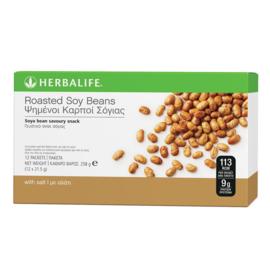 Geroosterde sojabonen Gezouten (1 doosje 12 x 21.5 gr)