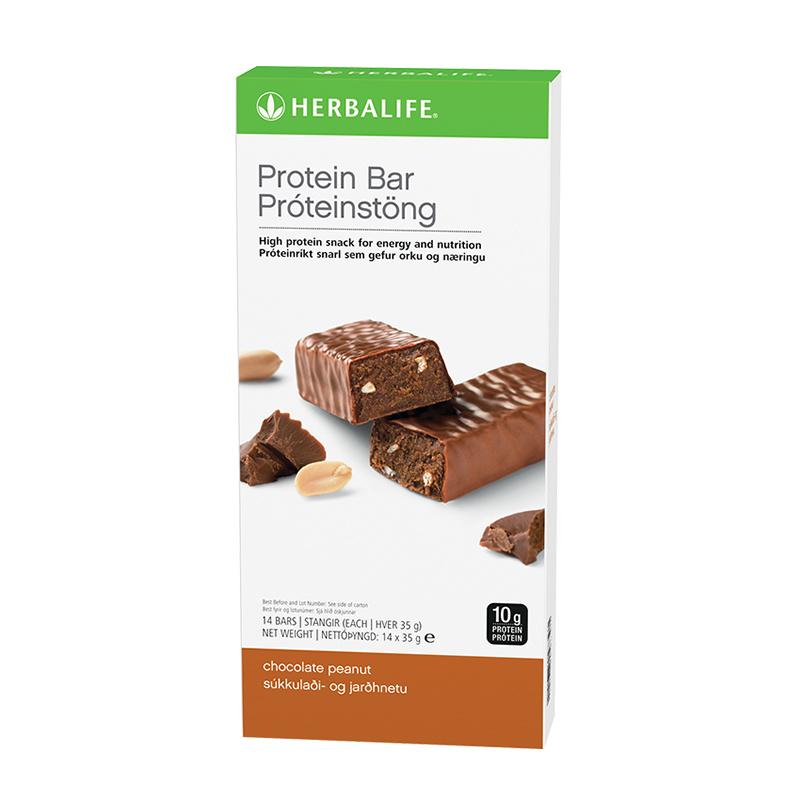 Proteïnereep Chocolade Pinda - 14 repen