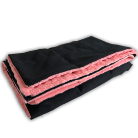Weighted blanket 120 x 180 cm  | Elegant | Black