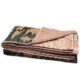 Cotton Blanket warm - Army