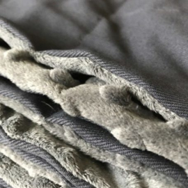 Verzwaringsdeken | Elegant | Donker Grijs 140 x 200 cm