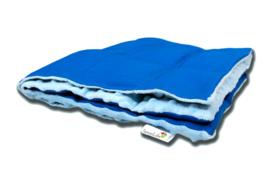 Verzwaringsdeken    Elegant   Blauw 60 x 80 cm