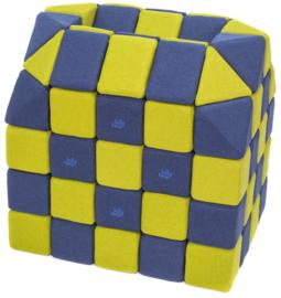 Magnetische blokken JollyHeap® - groen/donkerblauw