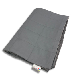 Weighted blanket 60 x 80 cm  | Elegant |  Grey - light
