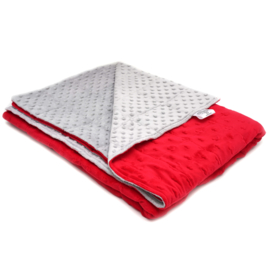"Weighted blanket ""Double Minky"" 120 x 180 cm"