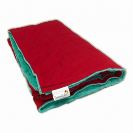 Weighted blanket 150 x 200 cm  | Elegant | Red