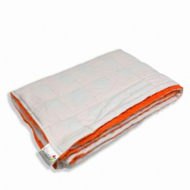 Weighted blanket 150 x 200 cm  | Elegant | White