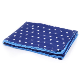 Weighted blanket | FUN | Stars dark blue 120 x 180 cm