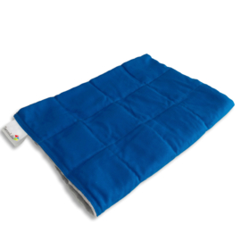 Weighted blanket 120 x 180 cm  | Elegant | Blue