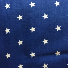 Verzwaringsdeken | FUN | Sterren Donker Blauw  135 x 200 cm