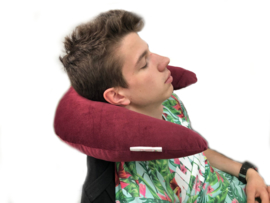 U-shape pillow Minky