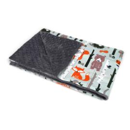 Cotton Blanket warm - Animals