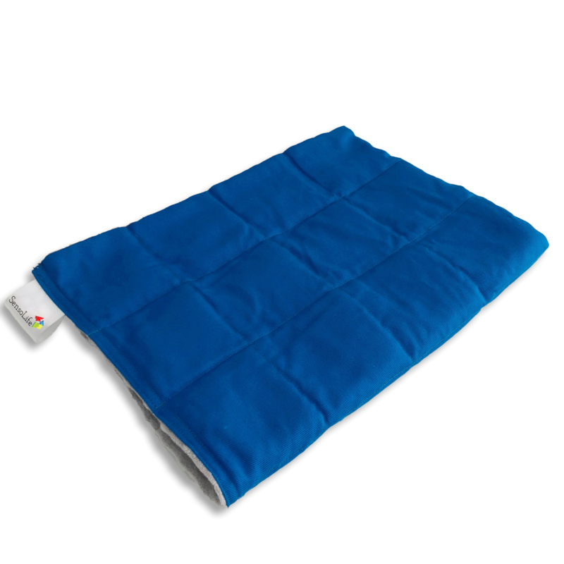 Gewichtsdecken 150 x 200 cm | Elegant | Blau