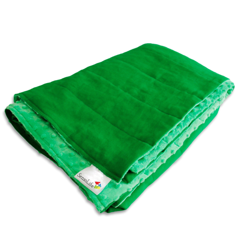 Verzwaringsdeken | Elegant | Groen 200 x 200 cm