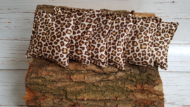 6 Pittenzakjes tijgerprint